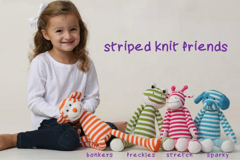 Striped Knit Friends