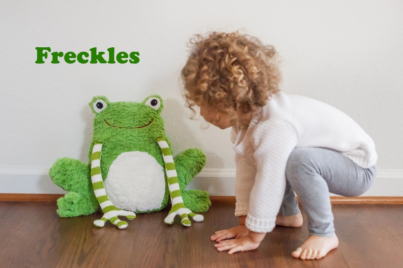 Freckles the Frog & Friends